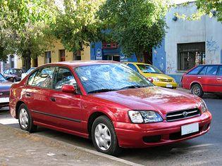 Subaru Legacy 3 generacji