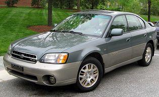 Subaru Outback 2 generacji