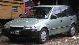 Suzuki Swift 2 generacji