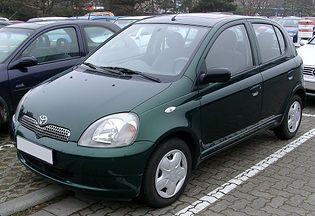 Toyota Yaris 1 generacji