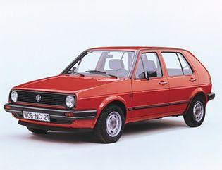 Volkswagen Golf 2 generacji