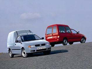 Volkswagen Caddy 2 generacji