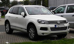 Volkswagen Touareg 2 generacji