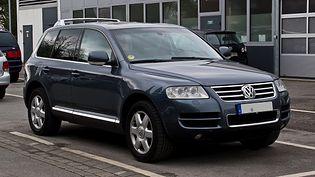 Volkswagen Touareg 1 generacji