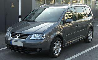 Volkswagen Touran 1 generacji