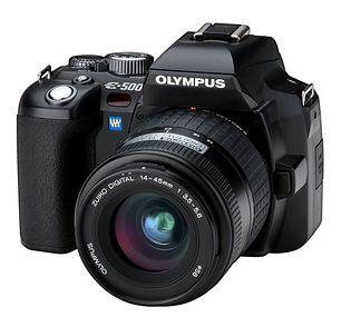 Olympus E-500 (EVOLT E-500)