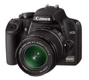 Canon EOS 1000D (EOS Rebel XS, Kiss F Digital)