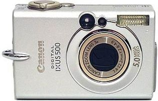 Canon PowerShot S500 (Digital IXUS 500, IXY Digital 500)