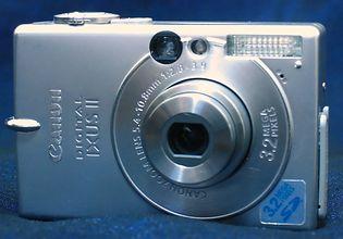 Canon PowerShot SD100 (Digital IXUS II, IXY Digital 30)