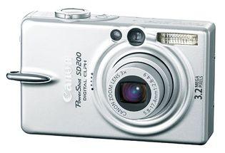 Canon PowerShot SD200 (Digital IXUS 30, IXY Digital 40)