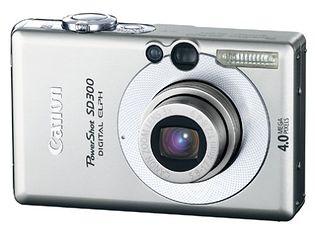 Canon PowerShot SD300 (Digital IXUS 40, IXY Digital 50)