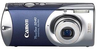 Canon PowerShot SD40 (Digital IXUS i7, IXY Digital L4)
