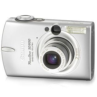 Canon PowerShot SD500 (Digital IXUS 700, IXY Digital 600)