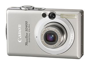 Canon PowerShot SD600 (Digital IXUS 60, IXY Digital 70)