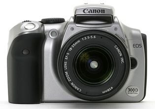 Canon EOS 300D (EOS Digital Rebel, EOS Kiss Digital)