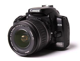 Canon EOS 400D (EOS Digital Rebel XTi, EOS Kiss Digital X)