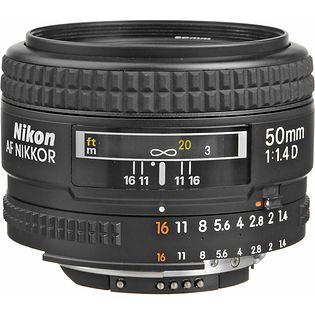 Nikon AF Nikkor 50mm f/1.4D