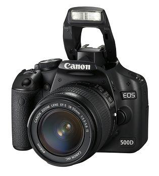 Canon EOS 500D (EOS Rebel T1i, EOS Kiss X3)