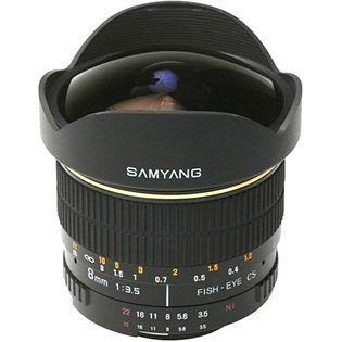 Samyang 8mm F3.5 Aspherical IF MC Fisheye
