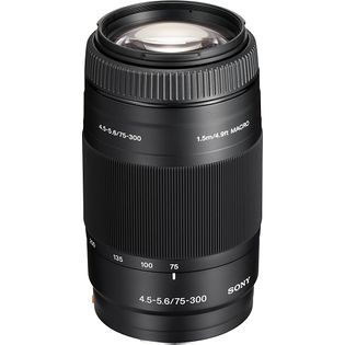 Sony 75-300mm F4.5-5.6