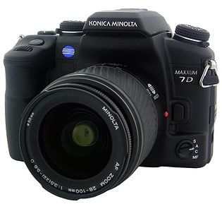 Konica Minolta Maxxum 7D (Dynax 7D, Alpha-7 Digital)