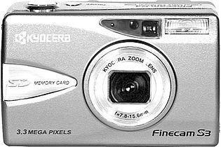 Kyocera Finecam S3 (Yashica Finecam S3)