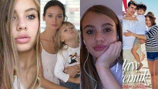 """Od """"córki Przybylskiej"""" do... przyszłej modelki? Oliwia Bieniuk skończyła 15 lat (ZDJĘCIA)"""
