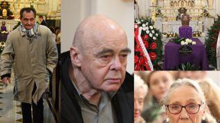 Komorowska, Tym i Gołas na pogrzebie Wiesława Michnikowskiego (ZDJĘCIA)