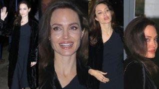 Szczęśliwa Angelina Jolie udowadnia, że wraca do formy po rozwodzie (ZDJĘCIA)
