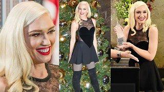 """Gwen Stefani w sukience z serduszkiem """"rozświetla"""" Empire State Building  (ZDJĘCIA)"""