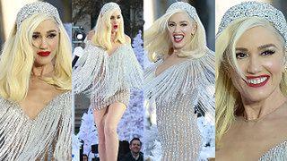 Szczęśliwa Gwen Stefani potrząsa frędzlami na scenie w Nowym Jorku (ZDJĘCIA)