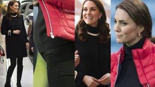 Księżna Kate pokazała brzuszek! Widać, że to czwarty miesiąc? (ZDJĘCIA)