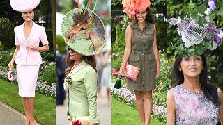 Najdziwniejsze kapelusze z Royal Ascot 2018 (ZDJĘCIA)