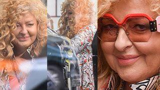 Magda Gessler w okularach za 2 tysiące złotych buszuje wśród wieszaków z UŻYWANĄ ODZIEŻĄ (ZDJĘCIA)