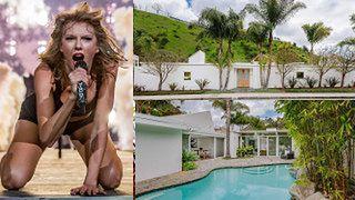 """Taylor Swift sprzedała jedną ze swoich """"zastępczych"""" posiadłości w Beverly Hills! Zobaczcie, jak mieszkała (ZDJĘCIA)"""
