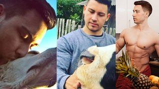 CIACHO TYGODNIA: weganin, bloger i kulturysta Adam Kuncicki (ZDJĘCIA)