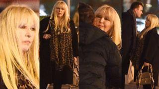 Lekko zmarnowana Maryla Rodowicz imprezuje z synem i jego kolegami (ZDJĘCIA)