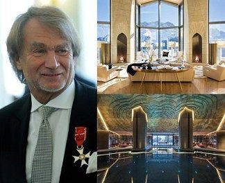"""""""Alpejski pałac"""" Kulczyka wystawiony za... 185 MILIONÓW DOLARÓW!"""