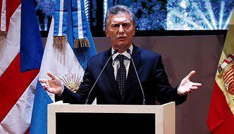 Ryzyko kolejnego bankructwa Argentyny rośnie. Inwestorzy martwią się losem prezydenta