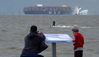Największy na świecie kontenerowiec płynie do Polski. Dotrze do Gdańska w piątek
