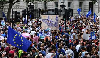 Breixt. Tysiące ludzi domagają się decyzji w sprawie przyszłości Wielkiej Brytanii
