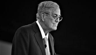 Zmarł David Koch, amerykański miliarder