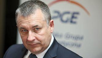 Prezes PGE nie będzie się ubiegał o następną kadencję w zarządzie spółki