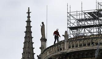 AXA wypłaci maksymalnie kilka milionów euro za dzieła w Notre Dame. Koszty odbudowy zabytków ponosi państwo