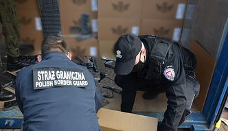 Rekordowy przemyt papierosów. W trzech kontenerach znaleziono kontrabandę o wartości 37 milionów