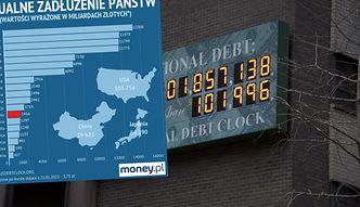 Walka z COVID-19 na kredyt. Długi państw rosną do niespotykanych wcześniej rozmiarów
