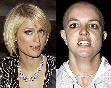 """Paris: """"Britney wyglądała świetnie, gdy była łysa!"""""""