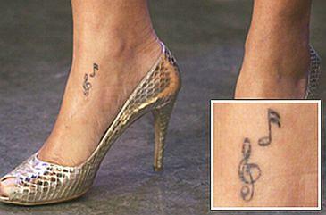 Tatuaże Rihanny