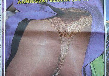Agnieszka Szulim nosi majtki
