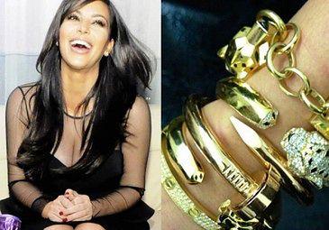 Kanye kupił jej bransoletki za PÓŁ MILIONA!